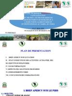 Plan Des Présentations P1-P2RS MALI