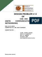 RA 6805 b 25 CSE 356 design problem 2
