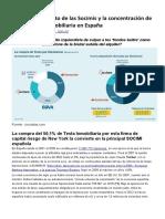 Blackstone El Mito de Las Socimis y La Concentración de La Propiedad Inmobiliaria en España