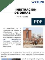 Administración de Obras Civil 3 Mayo 2021