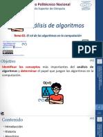 01 El rol de los algoritmos en la Computación