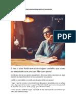 A gestão da comunicação organizacional e o Feedforward Texto Aula 6