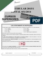 PROVA-OBJETIVA-CURSOS-SUPERIORES-EDITAL-051_2014.