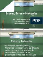 Esdras Ester Nehemas