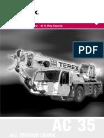 35 Ton Terex ATT 400-3