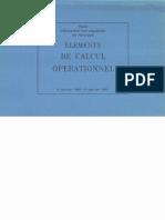 calcul operationnel