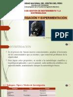 1.1 Objeto de investigacion