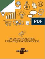 01 - Dicas de Marketing Para Pequenos Negócios