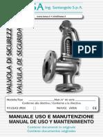 CAP M - 3 ITALIANO SPAGNOLO manuale_uso_manutenzione_besa LUGLIO 2007 Caldera Mingazzini