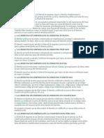 El Área de Conocimiento en La Libertad de Empresa Abarca a Derecho Constitucional y Empresarial