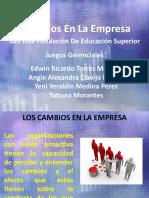 Cambios en la empresa (1)