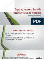 clase 4- Capital, Interés, Tasa de Interés