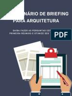 Questionario de Briefing COMERCIAL