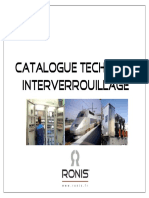 Catalogue technique Interverrouillage RONIS 09_11