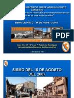 12DIC2007 Lecciones del Sur Sismo Pisco 15AGO2007