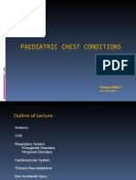 Paediatric Chest Conditions