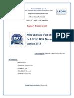 Certification Leoni Imprim