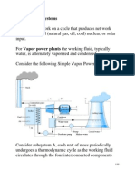 Vapour Power System