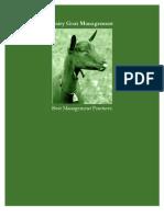 dairy goat management