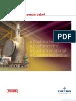 Custom Control Valve Brochure d351745x012