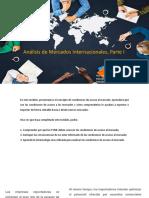 01.Análisis de Mercados Internacionales