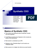 An Introduction to Synthetic CDO and Its Structure