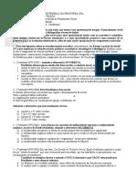 Roteiro de Estudos - Durkheim- Positivismo - Introdução Ao Pensamento Social - IPS