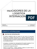 INDICADORES DE LA LOGISTICA INTERNACIONAL