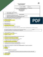 Evaluación Coeficiente 1 1° Medio Unidad N°3 Género dramático