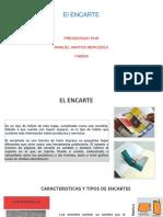 El Encarte Trabajo Individual Publicidad y Propaganda PDF