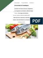 Tablas Toxinas Naturales en Alimentos