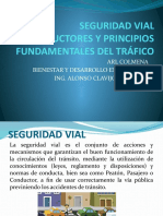 SEGURIDAD VIAL PRINCIPIOS FUNDAMENTALES