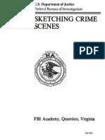 FBI Sketching Crime Scene (Diagramming)