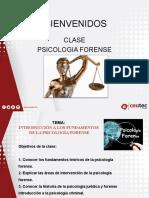 Forense Semana 1.1introduccion a La Psicologia Forense