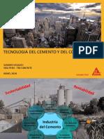 Tecnología Del Cemento y Concreto - SIKA