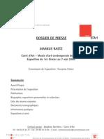 RAETZ-Dossier_de_presse
