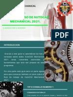 TIPS PARA USAR AUTOCAD MECHANICAL 2021