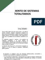 Surgimiento de Sistemas Totalirios