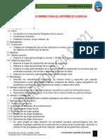 Contenido Minimo Informe de Las Cuencas 2021