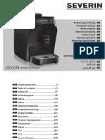 Severin KV 8080 Piccola Semplice Coffee Machine