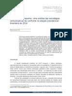 Diálogo em campanha; uma análise das estratégias comunicativas de confronto na eleição presidencial brasileira de 2014