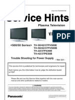 Plasma_Troubleshoting_Power_supply