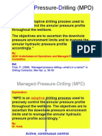 Managed-Pressure-Drilling (MPD)