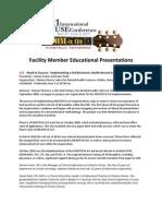 Facility Member Education