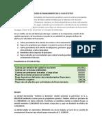 ACTIVIDADES DE FINANCIAMIENTO EN EL FLUJO EFECTIVO