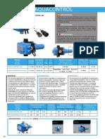 Ficha Tecnica Regulador de Presion Bcn Bombas Aquacontrol Mc