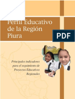 PROYECTO EDUCATIVO REGIONAL - PIURA