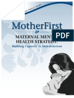 MotherFirst -- Maternity Mental Health Strategy