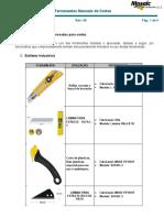 PGS-3212-020 Anexo 10 - Ferramentas Manuais de Cortes