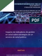 Impacto de indicadores de gestión en